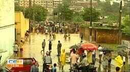 Funceme registra chuva em 112 municípios. A maior foi em Quiterianópolis