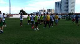 Jogo-treino entre Petrolina e Juazeirense termina em briga