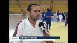 Treinamento de verão prepara judocas em Montes Claros