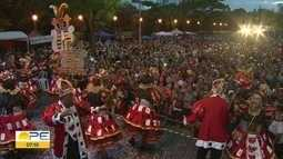 Blocos líricos exibem beleza e elegância em desfile na Aurora dos Carnaval