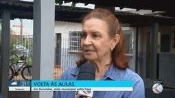 Alunos da rede municipal iniciam ano letivo em cidades do Triângulo Mineiro