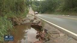 Situação de estrada que liga Ipeúna a Rio Claro preocupa motoristas