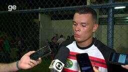 Polho, atacante do Flamengo-PI, fala sobre gol que deu vitória ao Rubro-Negro