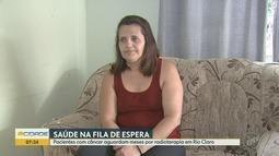 Pacientes com câncer aguardam meses na fila de espera para tratamento em Rio Claro