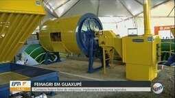 Femagri reúne expositores de máquinas, implementos e insumos agrícolas em Guaxupé