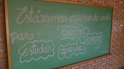 Escolas reformadas animam alunos em Porto Alegre