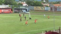 Gols pelo Guaporé feitos por Renato Oliveira, Ronigleison e Ismael Campelo e no Barcelona