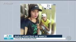 Casal é executado no Marco, em Belém; criança de dez anos ficou ferida no tiroteio