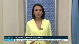 Obras da Sanepar interrompem abastecimento em Uvaranas nesta quinta (21)