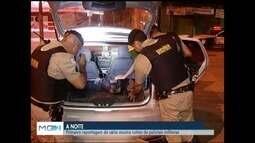 Reportagem de série especial mostra rotina de policiais militares que trabalham a noite