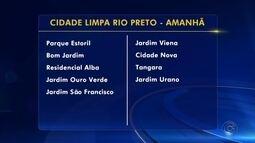 Confira a programação do Projeto Cidade Limpa em Rio Preto