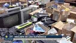 Praça das Araras é ponto de descarte de lixo eletrônico, hoje e amanhã, na capital de MS