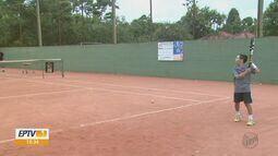 Tênis une dois irmãos na busca por vitórias em São Carlos