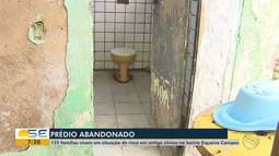 Prefeitura fala sobre situações de famílias que ocupam prédio de clinica abandonada