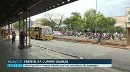 Prefeitura cumpre liminar e interrompe trâmite que leva ao reajuste da passagem