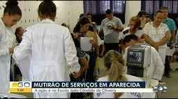 Mutirão de serviços gratuitos acontece em escola de Aparecida de Goiânia