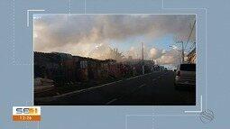 Incêndio próximo a região de ocupação assusta moradores no Bairro Siqueira Campos
