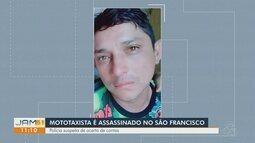 Mototaxista é assassinado no bairro São Francisco, em Manaus