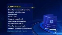 PATs da região de Itapetininga anunciam oportunidades de emprego
