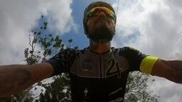 Em Itapetininga, dois cilicistas se destacam no mountain bike