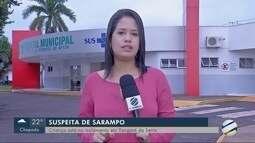 Bebê com suspeita de sarampo está no isolamento em Tangará da Serra