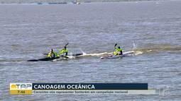 Canoístas santarenos se preparam para disputar competição em São Paulo