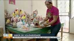 Ovos de páscoa do Hospital Evangélico já estão sendo produzidos, em Cachoeiro