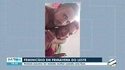 Mulher é morta a facadas pelo marido em Primavera do Leste