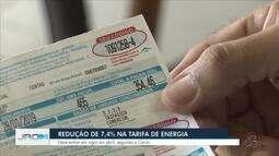 Redução de 7,4% na tarifa de energia em Rondônia