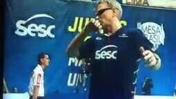 """Bernardinho se irrita com ponto de Tifanny: """"Um homem é f*"""""""
