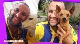 Quem disse que o carteiro não gosta de cachorro?! Olha que amor!!