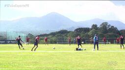 Paraná Clube segue preparação para a Série B