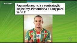 Paysandu anuncia as três primeiras contratações para a Série C