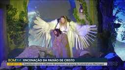 Encenação da Paixão de Cristo reúne milhares de pessoas em Maringá
