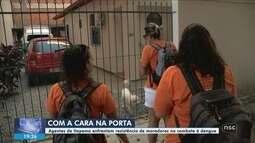 Agentes enfrentam resistência de moradores em ações de prevenção ao Aedes em Itapema
