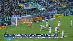 Chape abre vantagem contra o Corinthians e eleva confiança para decisão do estadual