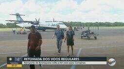 Aeroporto de Araraquara volta a ter voos comerciais da Azul a partir do dia 1ª de setembro