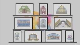 Confira obras da exposição 'Le Petit Pôa' de Tupax