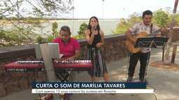 Marília Tavares se revela um talento da música roraimense