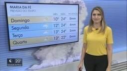 Confira a previsão do tempo para este domingo (21) no Sul de Minas