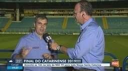 Avaí e Chapecoense disputam título estadual neste domingo (21); NSC TV transmite