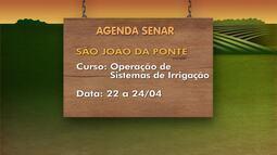 Confira os destaques dos cursos da Agenda Senar em parceria com os produtores rurais