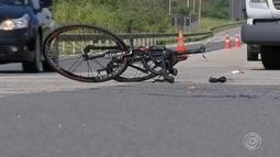 Morre ciclista que foi atropelado por carro em rodovia de Sorocaba