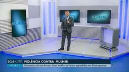 Duas mulheres foram agredidas em menos de seis horas em Guarapuava