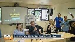 PF deflagra operação no Amazonas para desarticular crimes no INSS