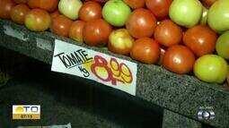 Giro do BDT mostra variação do preço do quilo do tomate na região norte da capital