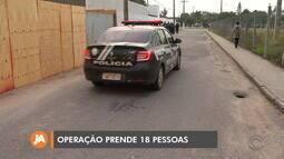 18 suspeitos são presos em Pelotas acusados de ameaçar e extorquir moradores