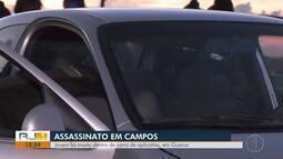 Jovem é morto dentro de carro de aplicativo em Guarus, no RJ