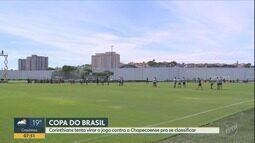 Corinthians enfrenta a Chapecoense e tenta classificação na Copa do Brasil