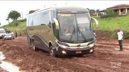 Empresa de ônibus mudam rota de viagem no MA por conta dos buracos na BR-316
